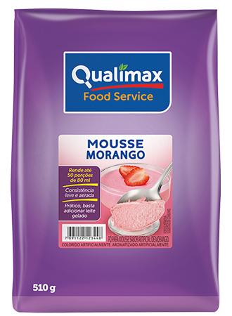 MOUSSE MORANGO QUALIMAX