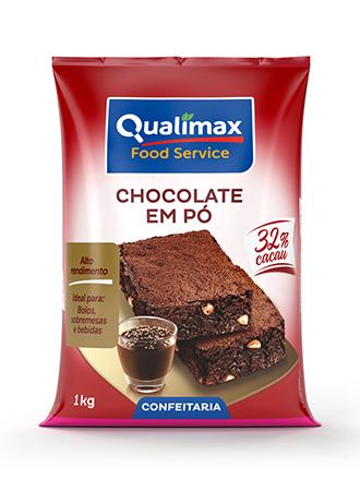 Chocolate em Pó Qualimax 32% Cacau 1kg