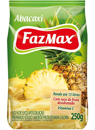 Refresco Abacaxi Fazmax