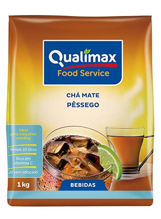 Chá Mate Pêssego Qualimax
