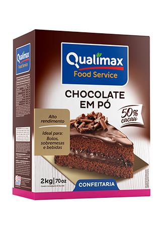 Chocolate em Pó Qualimax 50% Cacau 2kg