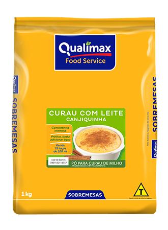 CURAU COM LEITE QUALIMAX