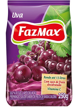 Refresco Uva Fazmax