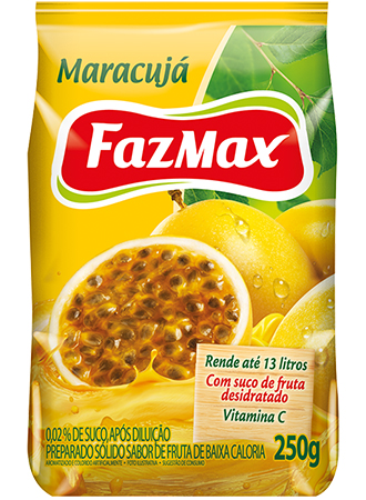 Refresco Maracujá Fazmax