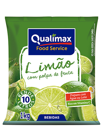REFRESCO LIMÃO QUALIMAX