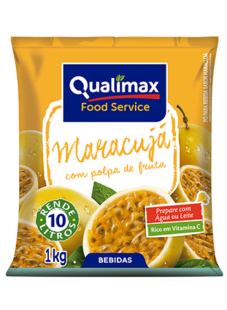 REFRESCO MARACUJÁ QUALIMAX