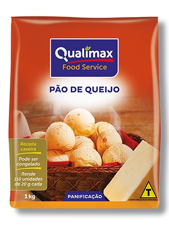 PÃO DE QUEIJO QUALIMAX