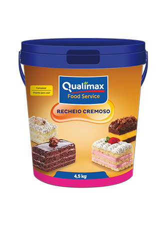 RECHEIO CREMOSO CHOCOLATE QUALIMAX