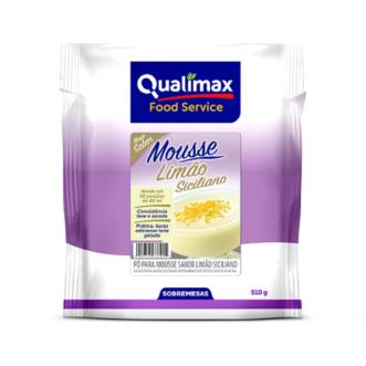 Mousse Limão Siciliano Qualimax