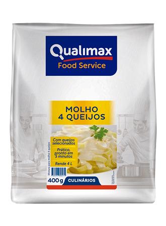MOLHO 4 QUEIJOS QUALIMAX