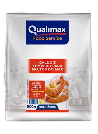 CALDO E TEMPERO PARA FRUTOS DO MAR QUALIMAX