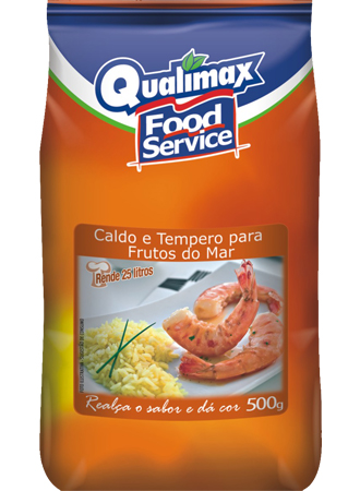 CALDO E TEMPERO PARA FRUTOS DO MAR QUALIMAX