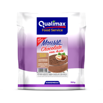 Mousse Chocolate Com Avelã Qualimax