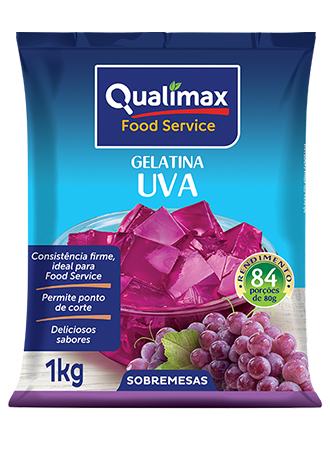 GRAPE JELLY QUALIMAX 1KG