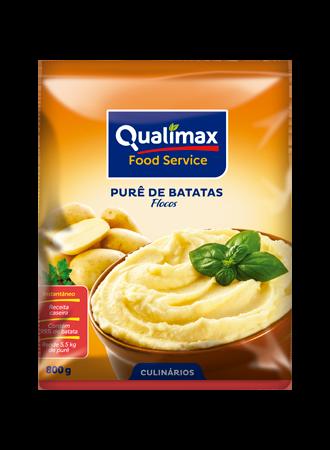 PURÊ DE BATATAS QUALIMAX