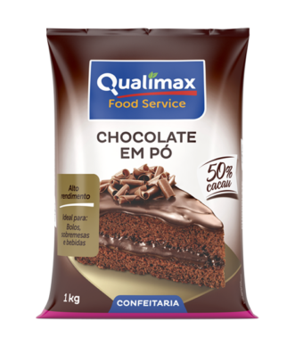 CHOCOLATE POWDER QUALIMAX 50% COCOA 1KG