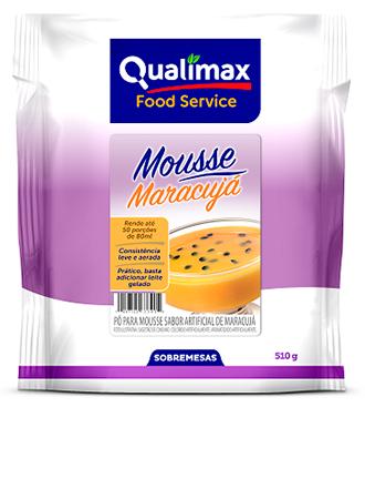 MOUSSE MARACUJÁ QUALIMAX