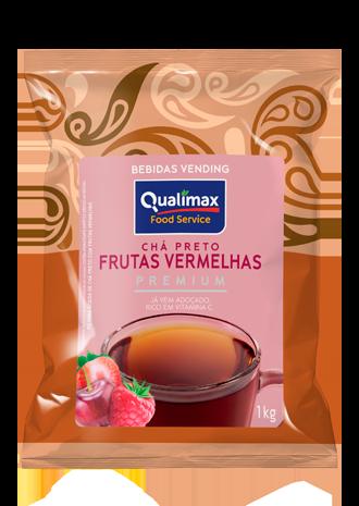 Chá Preto Frutas Vermelhas