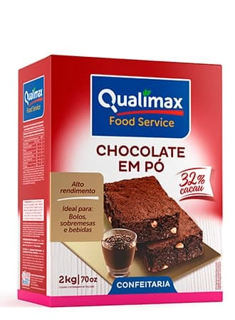 CHOCOLATE POWDER QUALIMAX 32% COCOA 2KG
