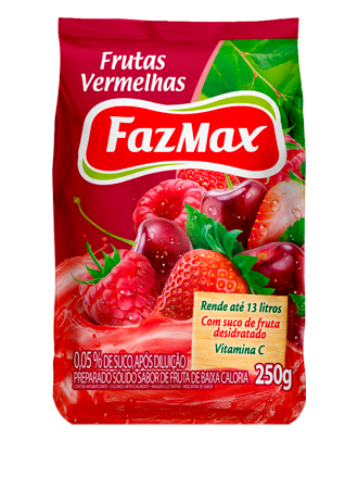 RED FRUITS JUICE FAZMAX