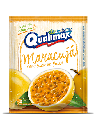 PASSION FRUIT DRINKING POWDER QUALIMAX