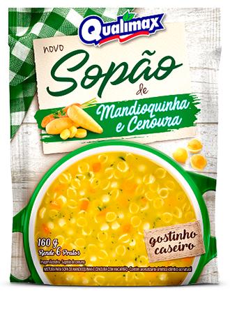 Sopão de Mandioquinha e Cenoura