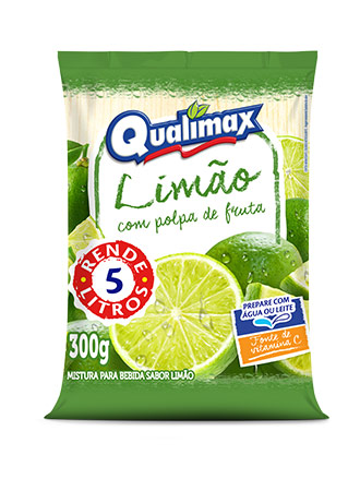 LEMON DRINKING POWDER QUALIMAX 300GR