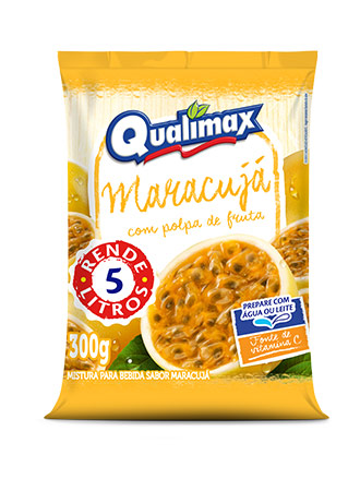 PASSION FRUIT DRINKING POWDER QUALIMAX 300GR