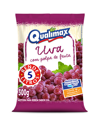 GRAPE DRINKING POWDER QUALIMAX 300GR