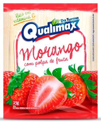 Pó Para Bebida Morango Qualimax